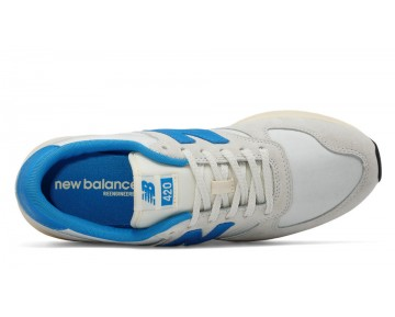 New balance chaussures pour hommes 420 re-engineered lifestyle plaster blanc et bleu MRL420-294