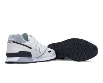 New balance chaussures pour hommes 446 80s running blanc et noir U446-296