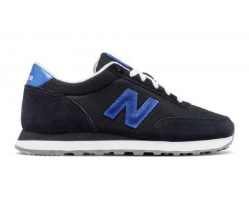 New balance chaussures pour femmes 501 classic core noir et vivid cobalt bleu WL501-224