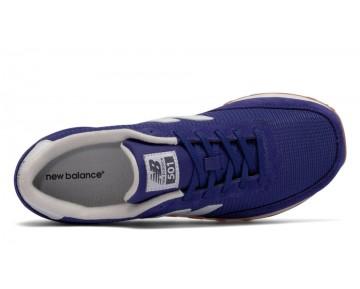 New balance chaussures unisex 501 lifestyle marine et blanc ML501-146