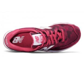 New balance chaussures pour femmes 574 camo lifestyle radish et blanc WL574-232