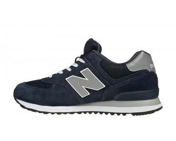 New balance chaussures unisex 574 core lifestyle marine et gris M574-156