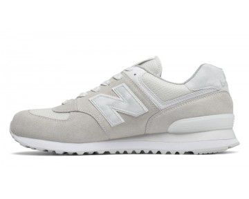 New balance chaussures unisex 574 lifestyle sea salt et blanc ML574-161