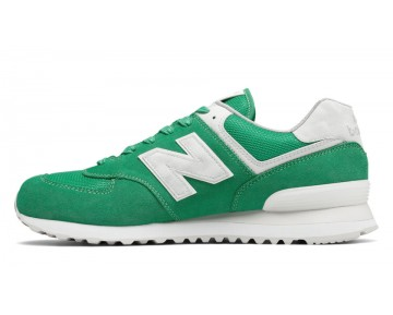 New balance chaussures unisex 574 lifestyle vivid jade et blanc ML574-163
