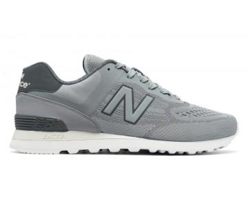New balance chaussures pour hommes 574 re-engineered lifestyle argent vison et gunmetal MTL574-310