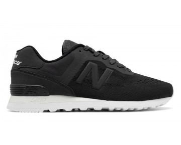 New balance chaussures pour hommes 574 re-engineered lifestyle noir et charcoal MTL574-311