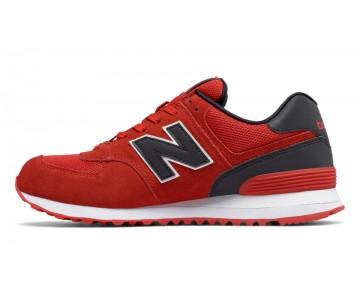 New balance chaussures pour hommes 574 reflective lifestyle rouge et noir ML574-313