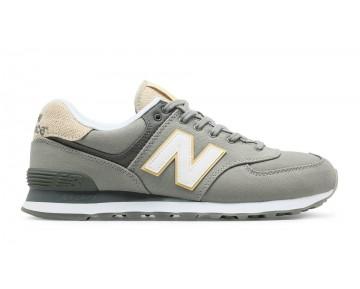 New balance chaussures pour hommes 574 retro lifestyle argent filigree et blanc ML574-316