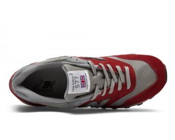 New balance chaussures pour hommes 577 lifestyle salmon et lumière gris M577-322