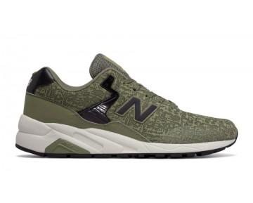 New balance chaussures unisex 580 90s running olive et noir et blanc MRT580X-167