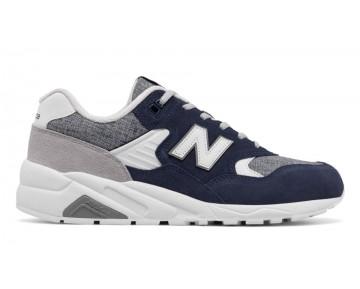 New balance chaussures pour hommes 580 deconstructed lifestyle pigment et argent MRT580-323