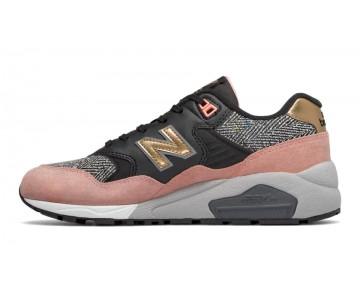 New balance chaussures pour femmes 580 casual bleached sunrise et noir et steel WRT580-249