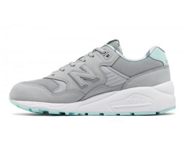 New balance chaussures pour femmes 580 casual argent vison et ozone bleu WRT580-250