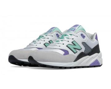 New balance chaussures pour femmes 580 lifestyle blanc et aquamarine WRT580-254