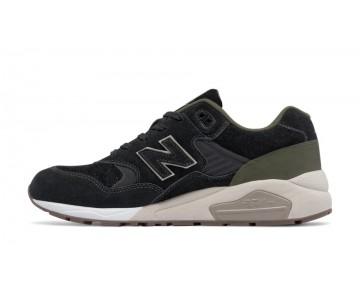 New balance chaussures pour hommes 580 tech nature casual noir et olive vert MRT580-332