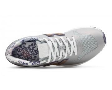 New balance chaussures pour femmes 96 revlite lifestyle argent vison et foncé cosmic sky et rose d'or WRT96-260