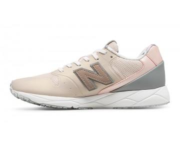New balance chaussures pour femmes 96 revlite lifestyle rose sandstone et argent vison et rose d'or WRT96-261