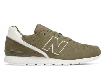 New balance chaussures unisex 996 leather lifestyle olive et khaki et blanc MRL996-184