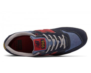 New balance chaussures pour hommes 996 suede casual marine et gris MRL996-345