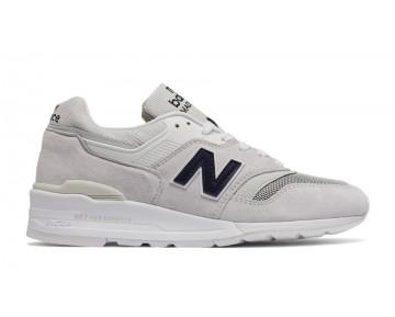 New balance chaussures pour hommes 997 lifestyle le riz blanc et marine M997-352