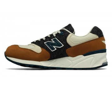New balance chaussures pour hommes 999 90s reflective running nutmeg et powder ML999-353
