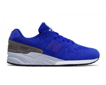 New balance chaussures pour hommes 999 re-engineered casual bleu et gris MRL999-355