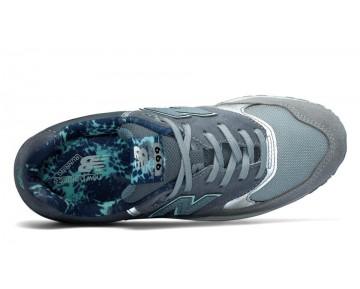 New balance chaussures pour femmes 999 suede lifestyle gunmetal et ozone bleu et gris WL999-272