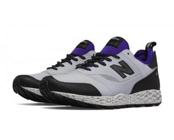 New balance chaussures pour hommes fresh foam trailbuster casual lumière gris et violet MFLTB-370