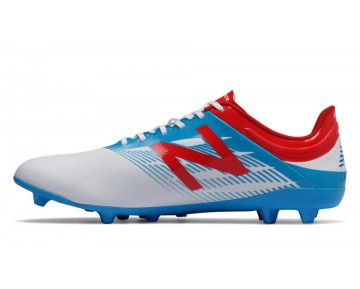 New balance chaussures pour hommes furon dispatch ag football blanc et atomic et barracuda MSFUDA-374