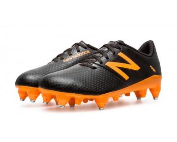 New balance chaussures pour hommes furon dispatch sg jnr football noir et orange JSFUDS-375