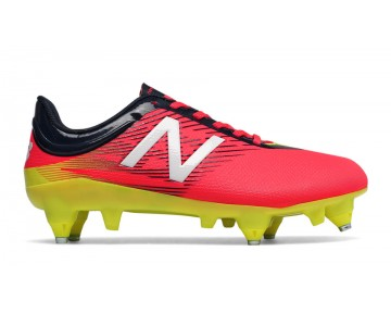 New balance chaussures pour hommes furon dispatch sg jnr football brillant cerise et galaxy et firefly JSFUDS-376