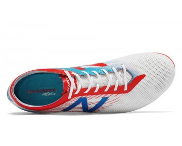 New balance chaussures pour hommes furon pro ag football blanc et atomic et barracuda MSFURA-378