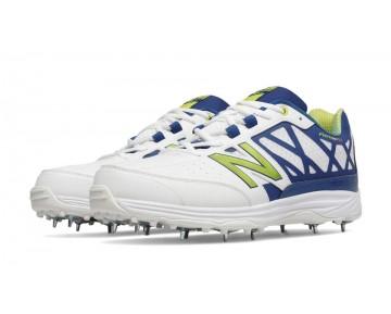 New balance chaussures pour hommes 10v2 minimus cricket blanc et atlantic et aurora rouge CK10-382