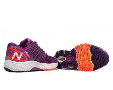 New balance chaussures pour femmes 1260v5 course violet et orange W1260-295