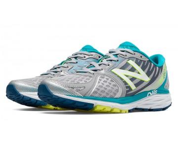 New balance chaussures pour femmes 1260v5 course argent et bleu atoll W1260-296