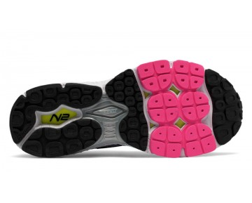 New balance chaussures pour femmes 1260v6 running foncé porcelain bleu et alpha rose et reflection W1260-297