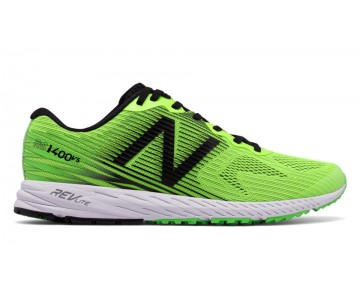 New balance chaussures pour hommes 1400v5 course lime glo et vivid cactus et noir M1400-387