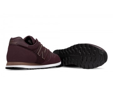 New balance chaussures pour femmes 373 lifestyle bourgogne et d'or WL373-301