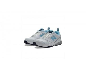 New balance chaussures pour femmes 624v4 blanc et bleu WX624-305