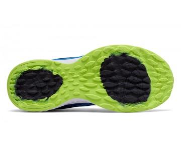 New balance chaussures pour hommes 720v4 running electric bleu et noir et hi-lite M720-403