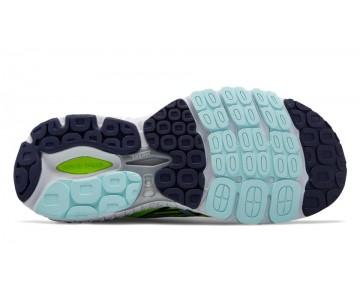 New balance chaussures pour femmes 860v7 course lime glo et foncé denim W860-334