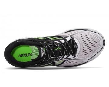 New balance chaussures pour hommes 860v7 running blanc et noir et energy lime M860-413