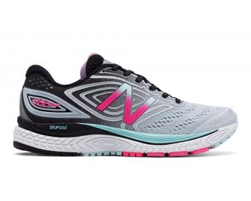 New balance chaussures pour femmes 880v7 course lumière porcelain bleu et noir et alpha rose W880-339