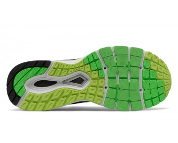 New balance chaussures pour hommes 880v7 course reflection et noir et hi-lite M880-418