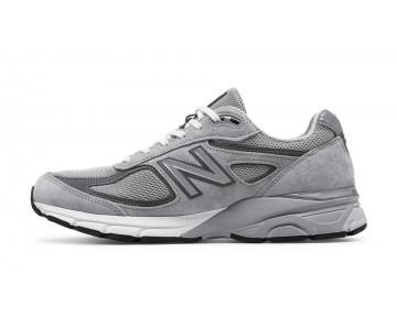 New balance chaussures pour hommes 990v4 running gris et castlerock M990-421