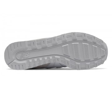 New balance chaussures pour femmes 996 running blanc et metallic argent WR996-344