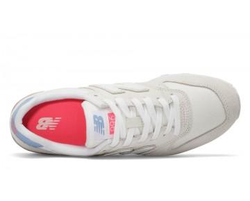 New balance chaussures pour femmes 996 running sea salt et blanc WR996-345