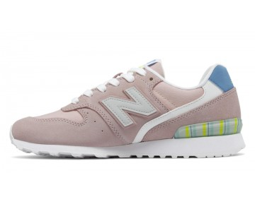 New balance chaussures pour femmes 996 running sunrise glo et blanc WR996-346