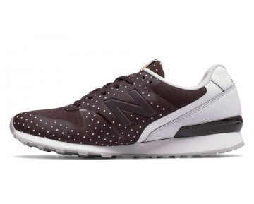 New balance chaussures pour femmes 996 course marron et blanc WR996-348