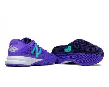 New balance chaussures pour femmes 996v2 tennis violet et teal WC996-353